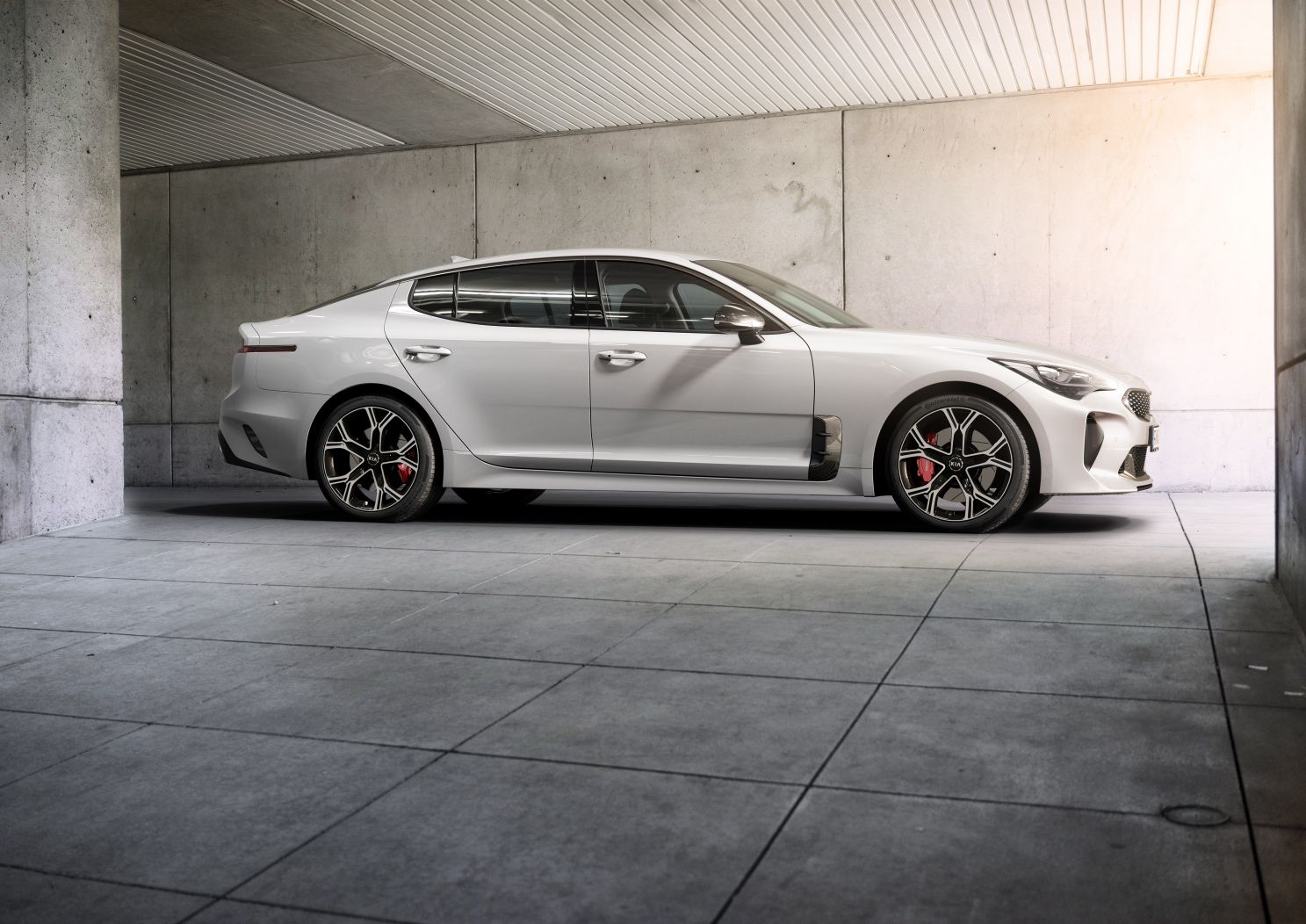 the kia stinger had just such a history before getting the green light for production as a 2018 model slated to go on sale next fall