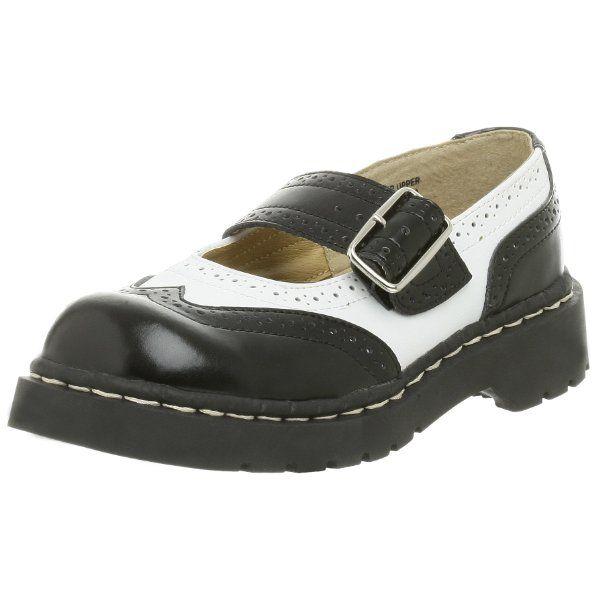 T.U.K. Women's Brogue Mary Jane Flat:Amazon:Shoes
