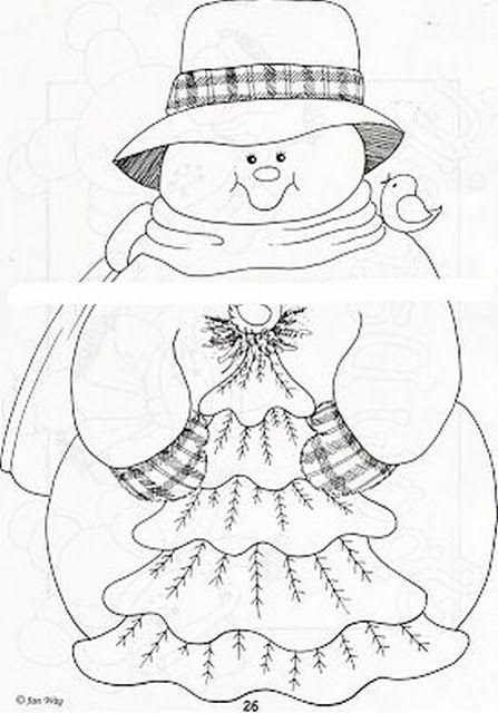 Dibujos Y Plantillas Para Imprimir Munecos De Nieve Muneco De Nieve Paginas Para Colorear De Navidad Acolchado De Navidad