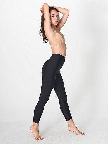 a17c507333d7b7 Shiny Nylon Tricot Leggings | American Apparel...maybe i wont get holes in  these