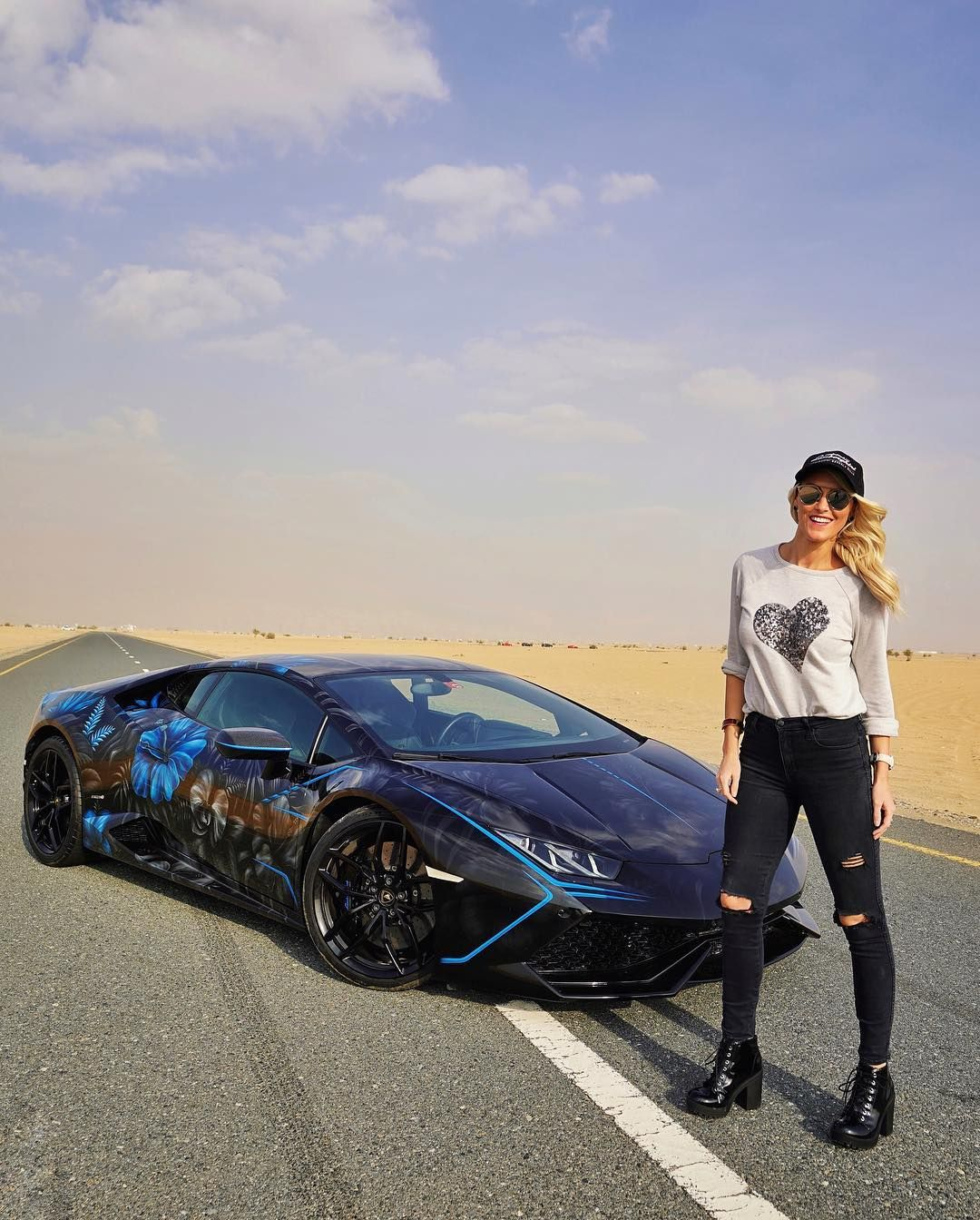 Just The Two Of Us Taking On The World How Are You Guys Lucythelambo Pic By Nikcars Lamborghini Huracan Cardip Classy Cars Super Cars Car Girls