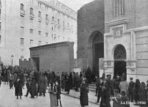 Cristo de Medinaceli Madrid1926.