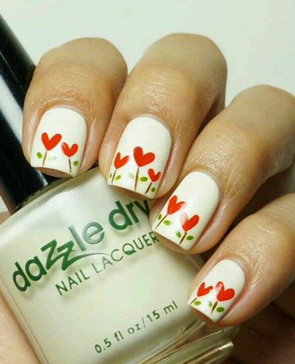 flores corazones