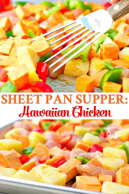 Sheet Pan Supper: Hawaiian Chicken images