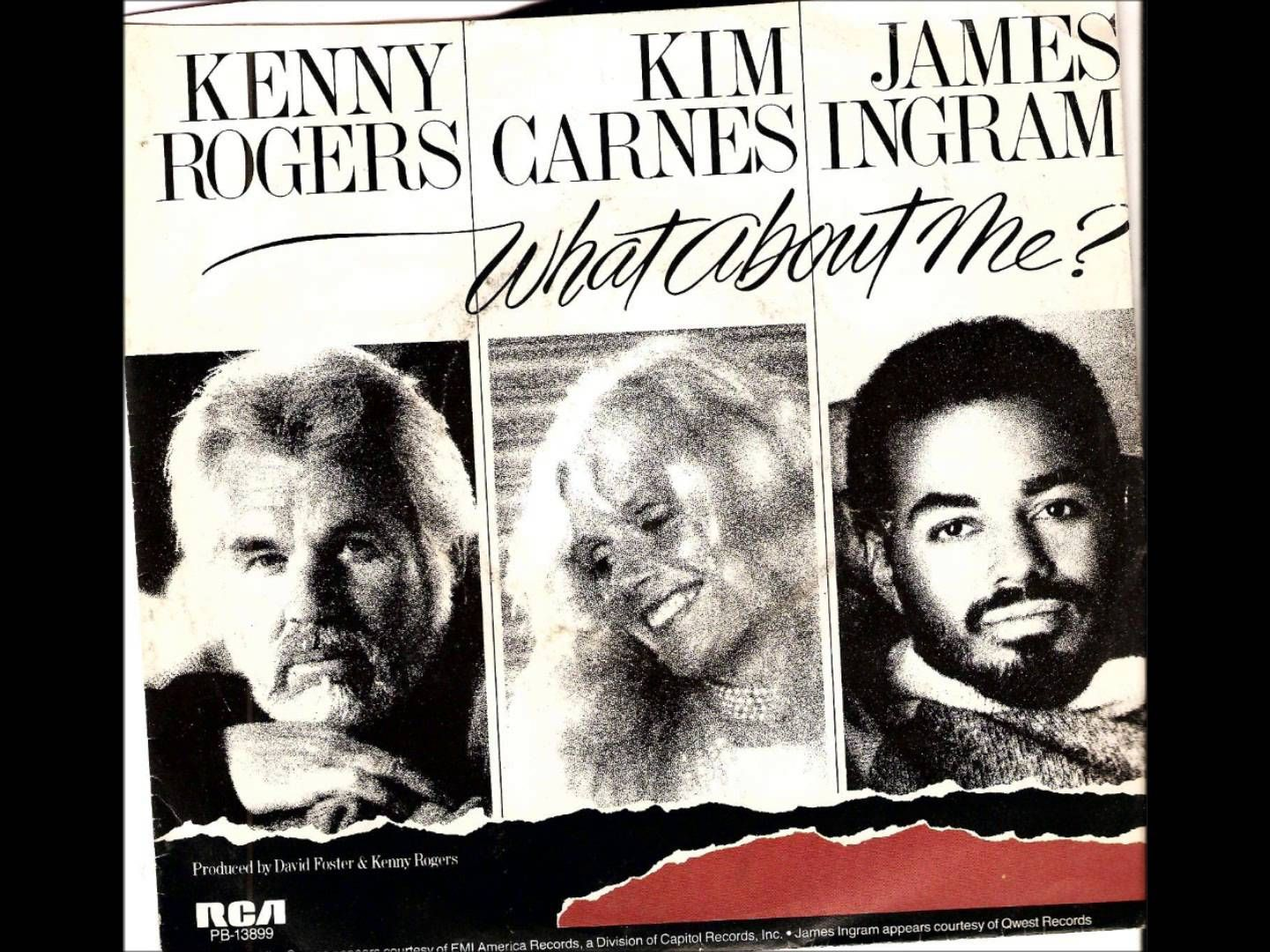 What About Me Kenny Rogers Kim Carnes James Ingram Carnes Musica