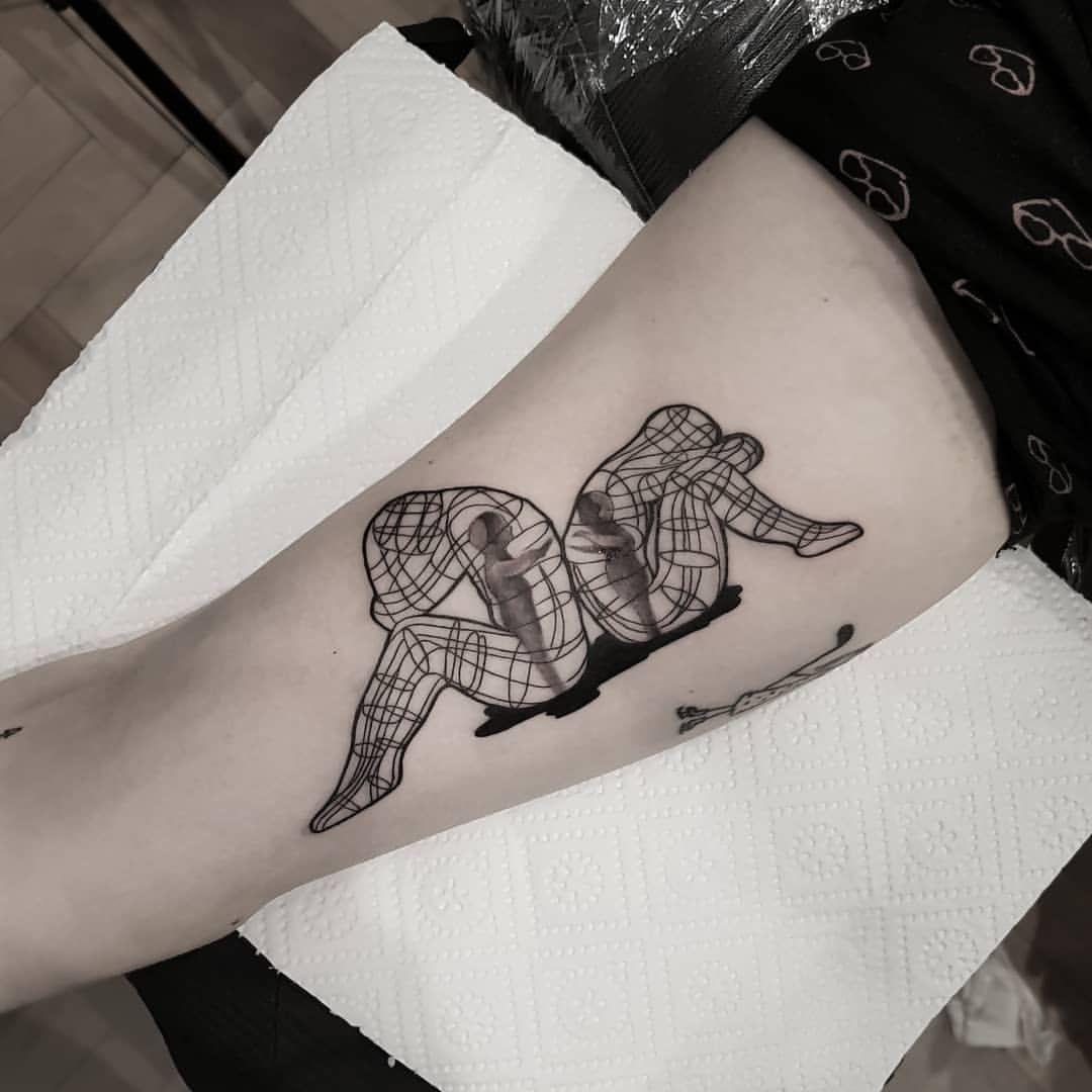 Inner Child Tattoo: R.One Tattoo (@r_one_tattoo