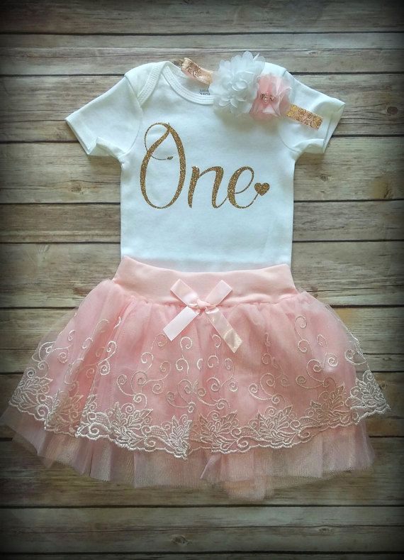 44cd53ccf 1st Birthday Girl Outfit, CUSTOMIZE, First birthday outfit, Pink ...