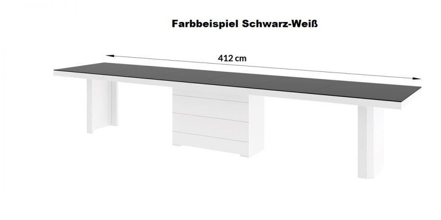 Esstisch Hochglanz Grau Inspirierend Design Esstisch He 777 Grau