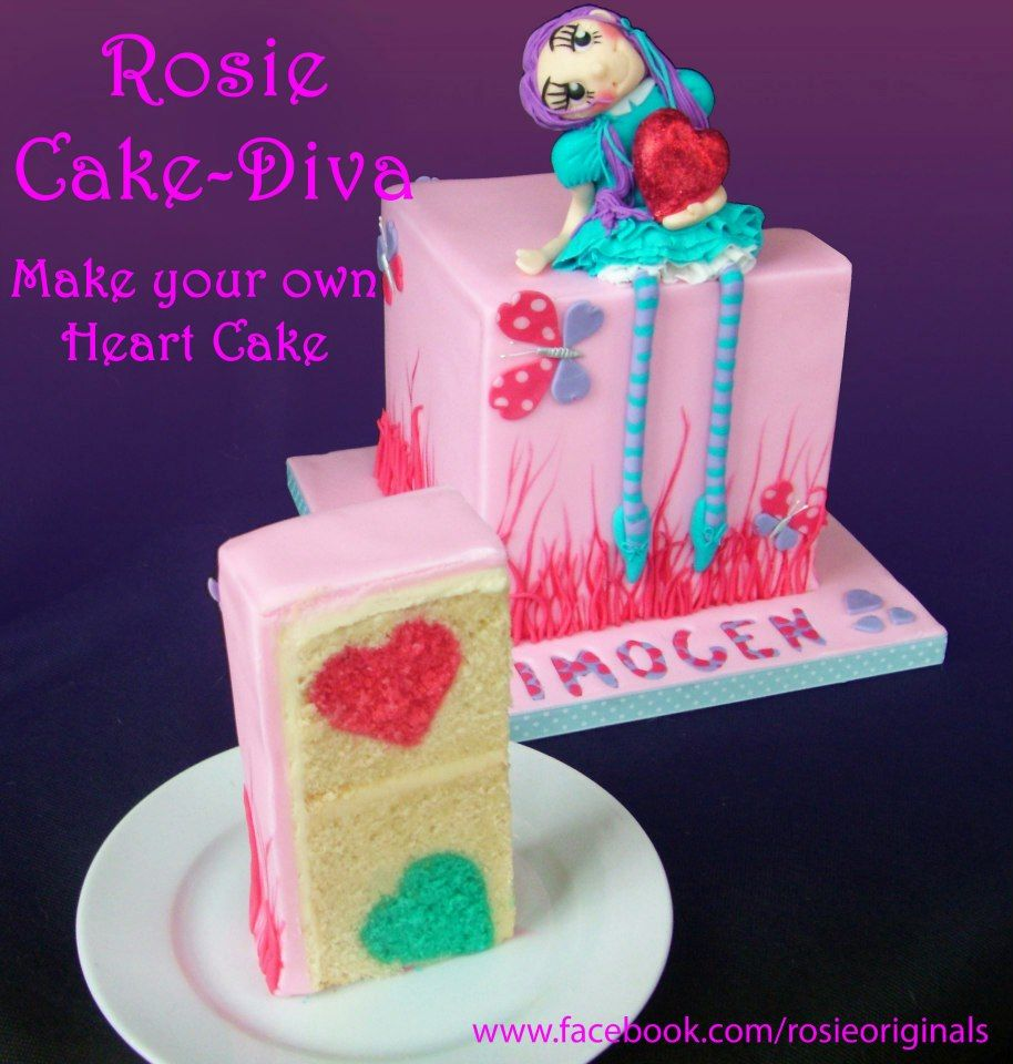 Heart Cake Tutorial Madeira Cake Recipe Sugar Syrup Recipe By