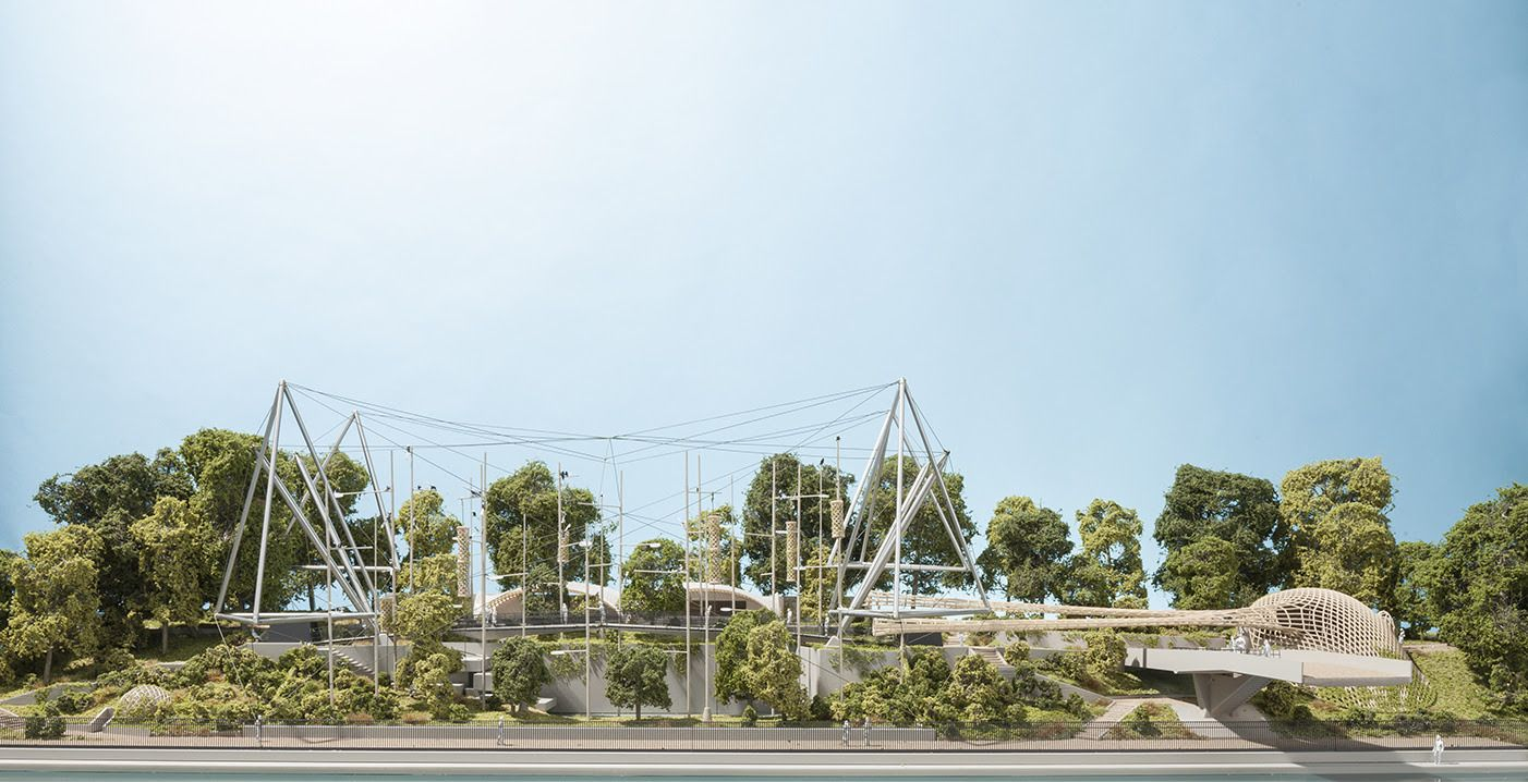 Foster partners gains planning permission for snowdon aviary foster partners gains planning permission for snowdon aviary transformation at the london zoo baanklon Gallery