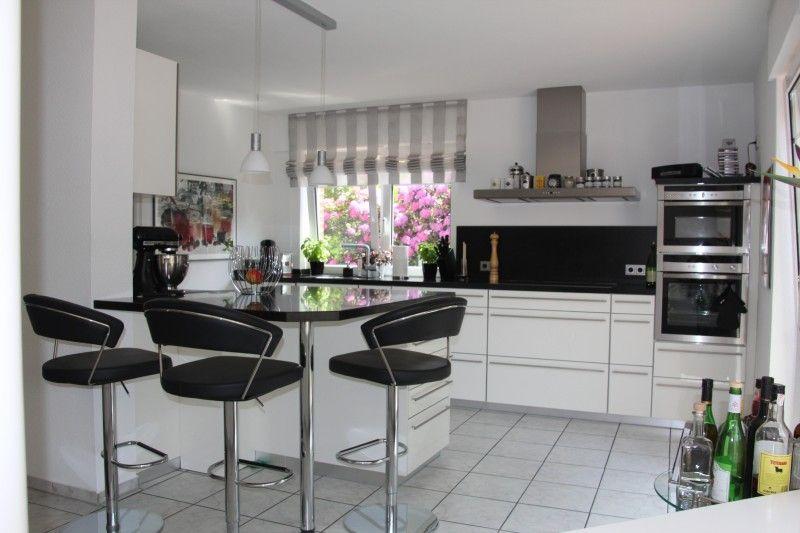 Endlich Bilder unserer neuen Küche! - Fertiggestellte Küchen - küchenzeile weiß hochglanz