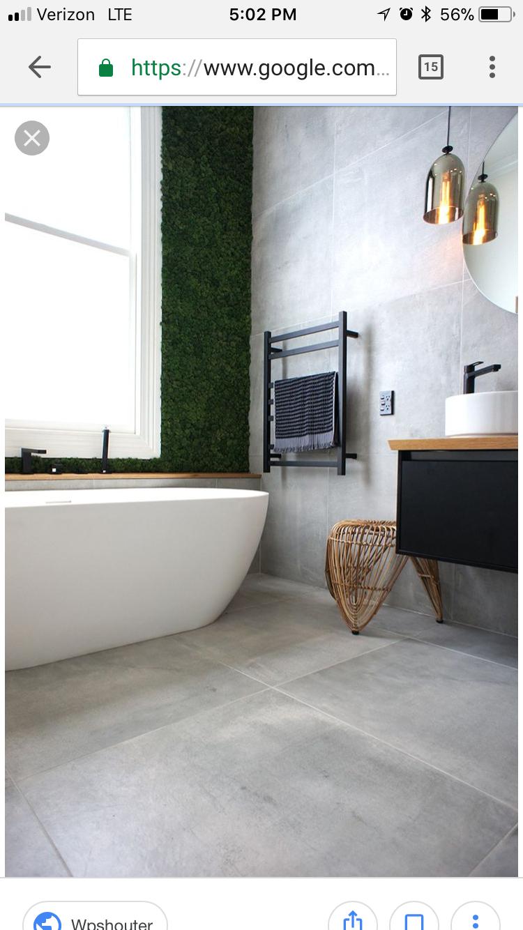Carrelage Salle De Bain Gris Clair Épinglé par roxane hamel sur salle de bain | salle de bains