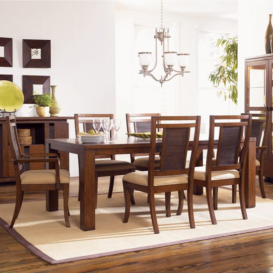 Klaussner Eco Chic Dining Room Set  Tropical Beachy Style For My Delectable Klaussner Dining Room Furniture Decorating Design