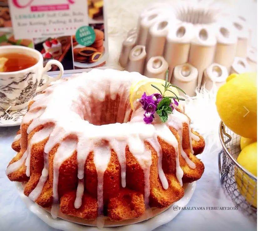Resep Lemon Buttercake Glazing Yang Enak Dan Cantik Resep Lemon Kue