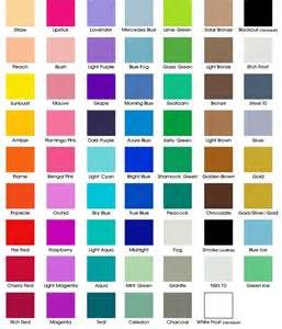 Clothing Color Chart Bing Images