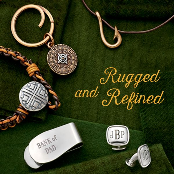 9a265dabf Our new gifts for men are rugged and refined. #JamesAvery | Charms ...