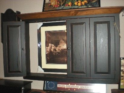 Wall Cabinet for plasma TV!