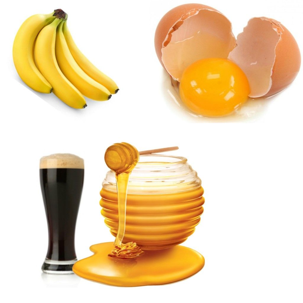 Banana Egg Beer And Honey Hair Growth Foods Hair Mask For Growth Boost Hair Growth