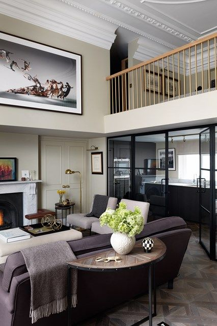 Living Area Mezzanine Kleine Wohnzimmerideen Wohnzimmer Ideen