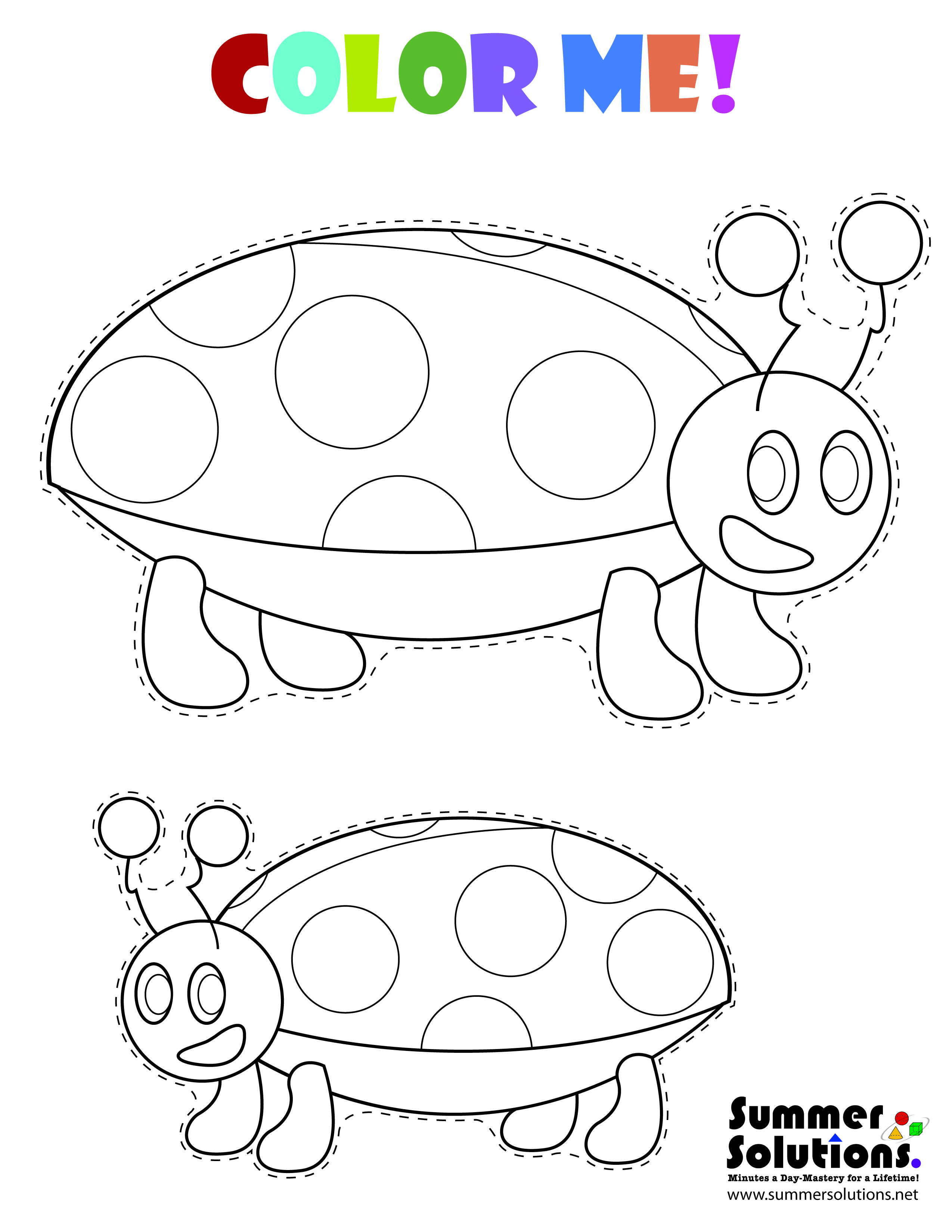 A Ladybug Coloring Page Share With Your Kids Or Enjoy It