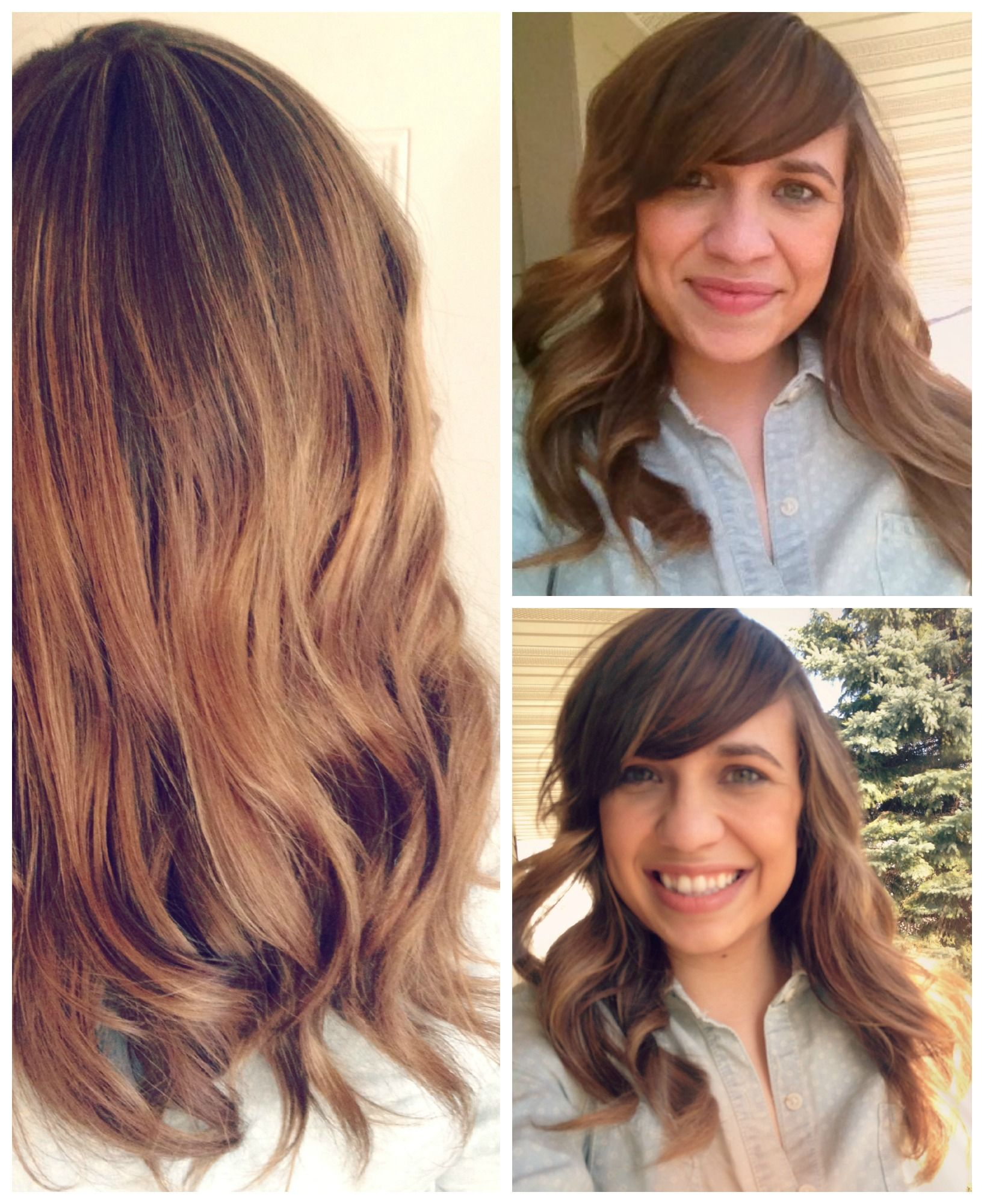 Light Brown Ombre Subtle Ombre With Highlights Weaved It Ombre