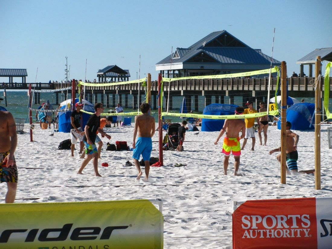 East End Volleyball At Clearwater Beach Beach Volleyball Clearwater Beach Beach Festival Clear Water