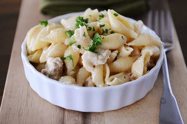 This one pot wonder will make you rethink the scary tuna noodle casseroles of the past. Fast and easy, this creamy concoction is wholesome and delicious!