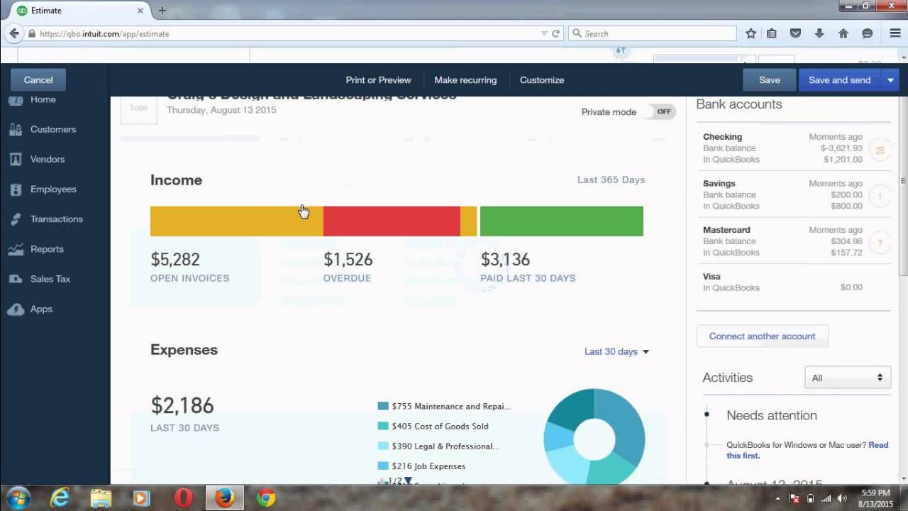 Change Title From Estimate To Proposal In Quickbooks Online Quickbooks Training Quickbooks Online Quickbooks