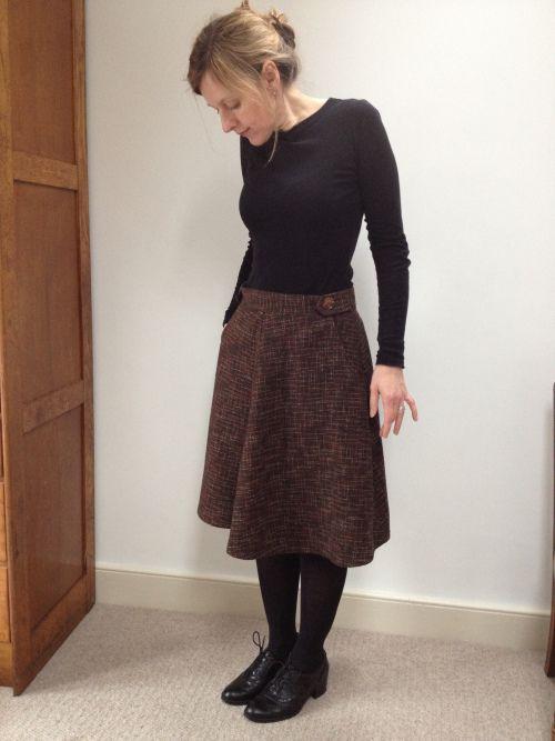 sewaholic skirt