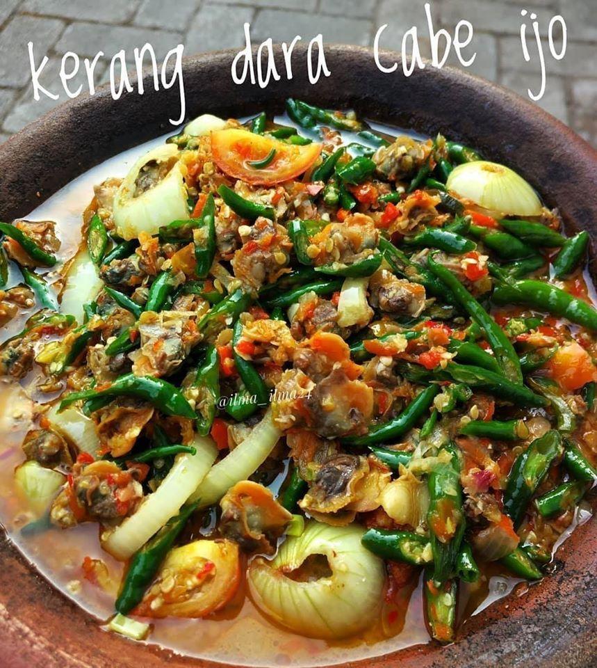 Resep Masakan Kerang Dara Cabe Ijo Citarasa Kuliner Nusantara Resep Resep Masakan Masakan Resep Kerang