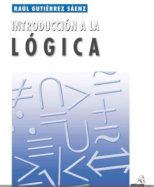 Libros En Derecho Introduccion A La Logica Logica Filosofia Logica Logico Matematico