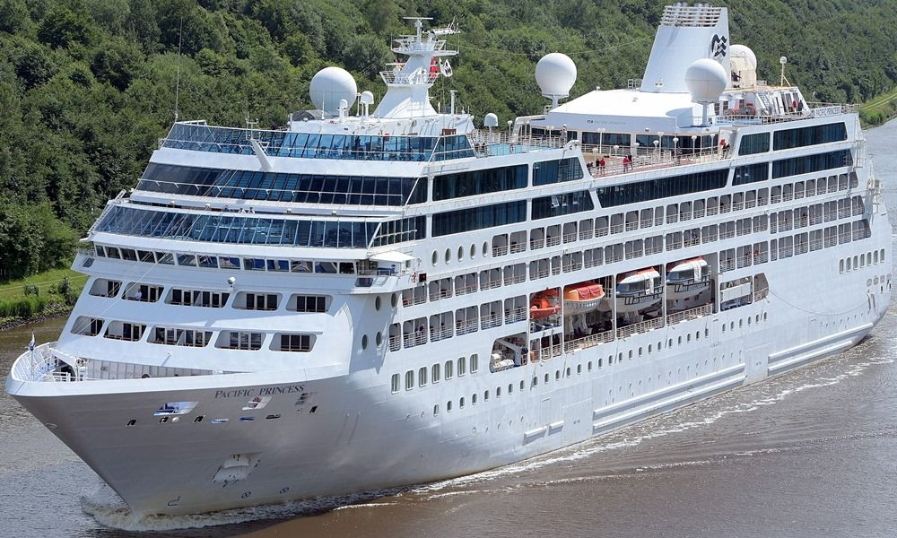 Pacific Princess Itinerary Schedule Current Position - Boudicca cruise ship itinerary