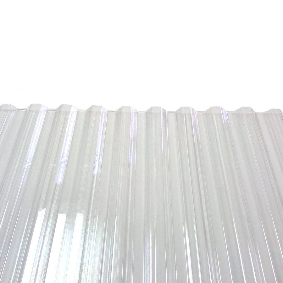 Tuftex Polycarb 2 17 Ft X 8 Ft Corrugated Polycarbonate Plastic Roof Panel Lowes Com Corrugated Plastic Roofing Roof Panels Corrugated Plastic