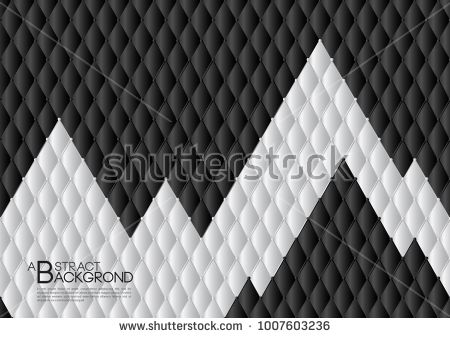 black and white abstract background vector illustration cover