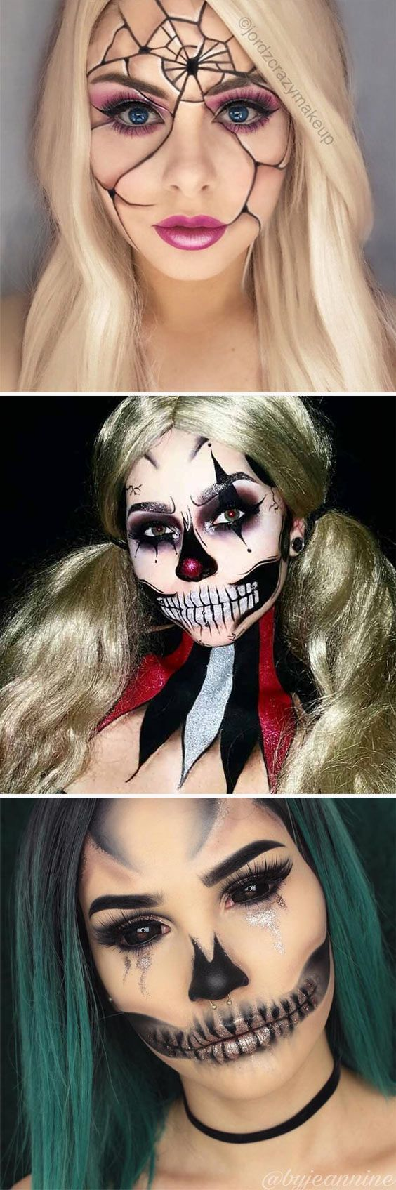 21 super scary halloween makeup looks | scary halloween makeup