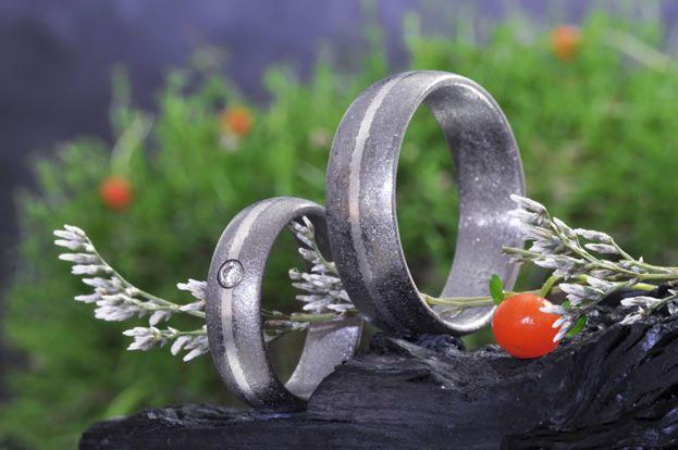 Trauringe für die besondere Hochzeit:  http://elfenmetall.ch/trauringe
