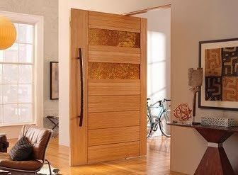 Photo of Besides the wooden door model is also durable, and easy to handle …- Selain it…
