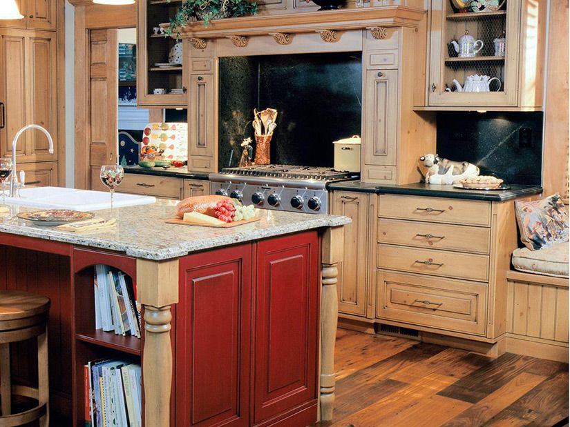 Painted Vs Stained Cabinets Which Is Best Stained Kitchen Cabinets Kitchen Cabinets Pictures Clean Kitchen Cabinets