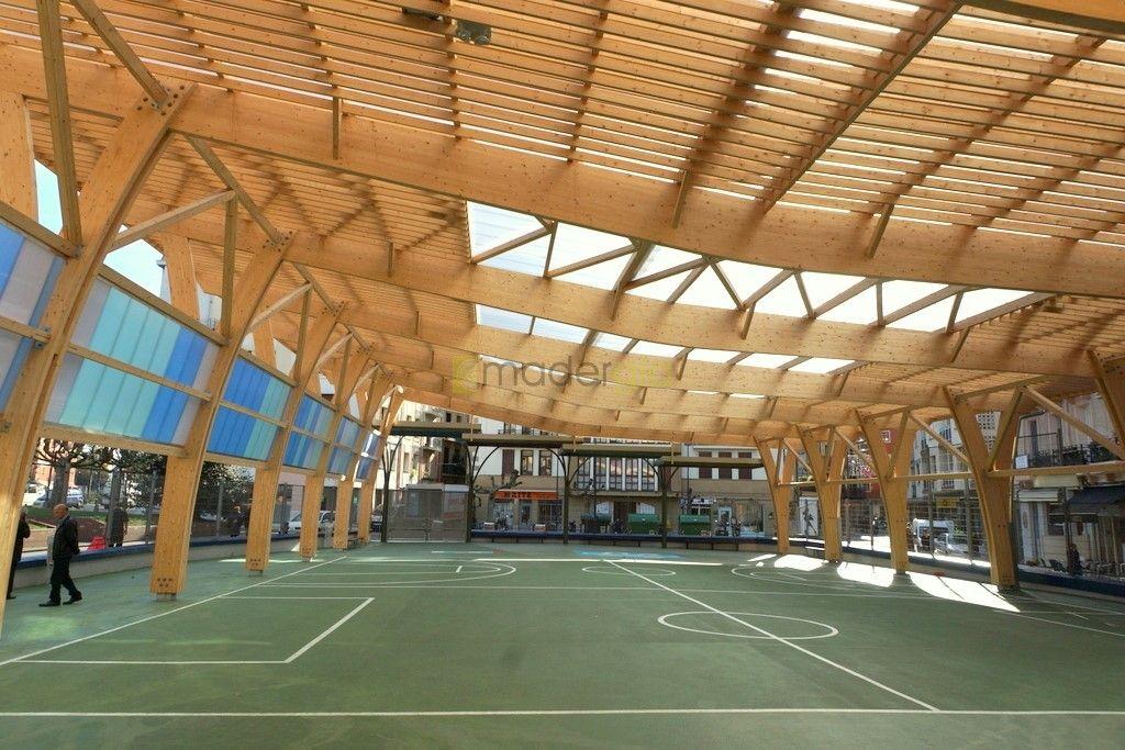 Estructuras de madera madergia estructurales for Estructura arquitectura