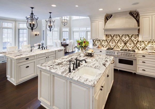 What Are The Best Granite Countertop Colors For White Cabinets In