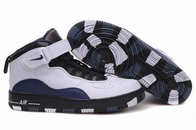huge discount 5e750 58185 Air Jordan 10 (X)   Air Force Mix White Black Dark Blue Shoes features  striped design which lists a handful of Michael s accomplishments.
