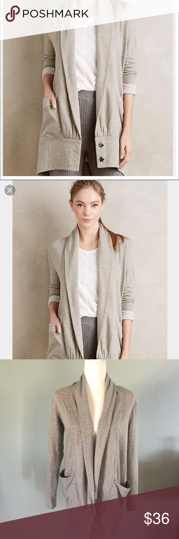 Anthropologie Pure & Good cocoon wrap cardigan | Wrap cardigan ...