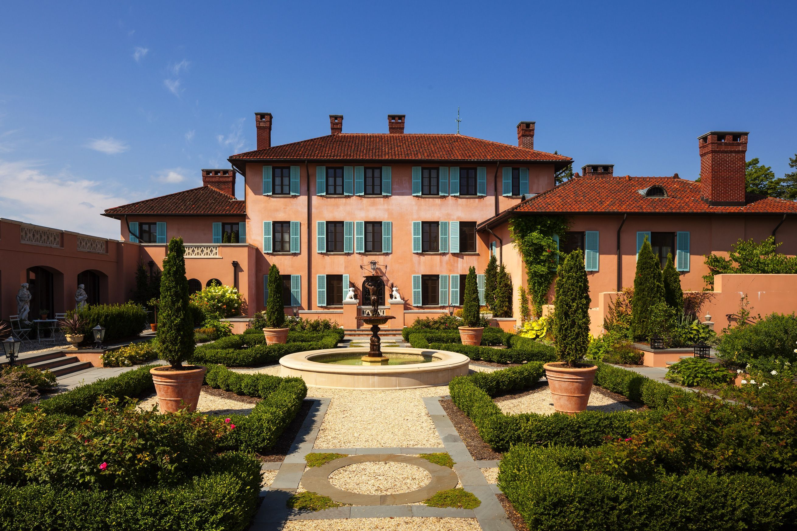 How two neglected mansions became leading luxury hotels