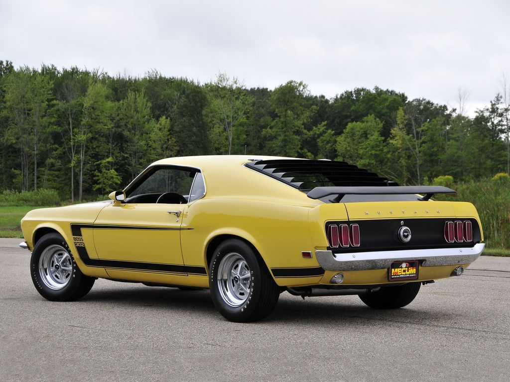 Ford Mustang 1969 Boss 302 Fastback