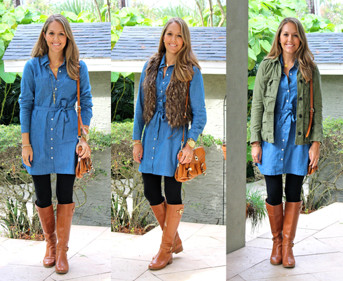 Today's Everyday Fashion: The Chambray Dress