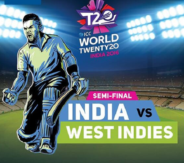 Tonight Semi Final match for IND vs WI. We have Cheers to India win..