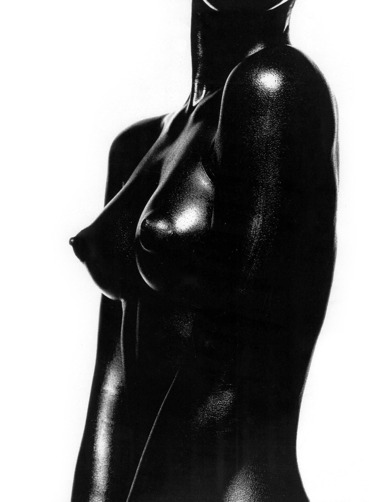 Black sculpture nude african american black woman art