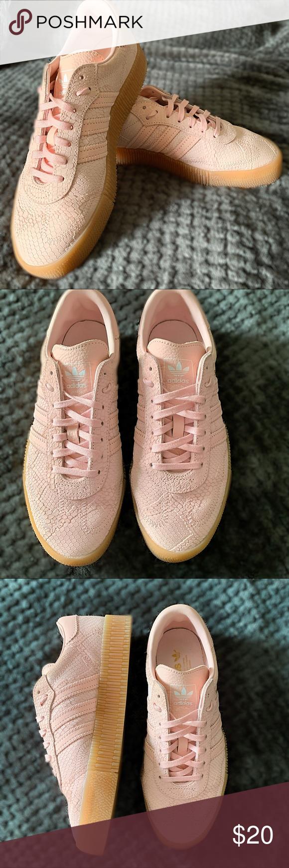 Samba Rose Icy Pink Shoes Adidas Samba