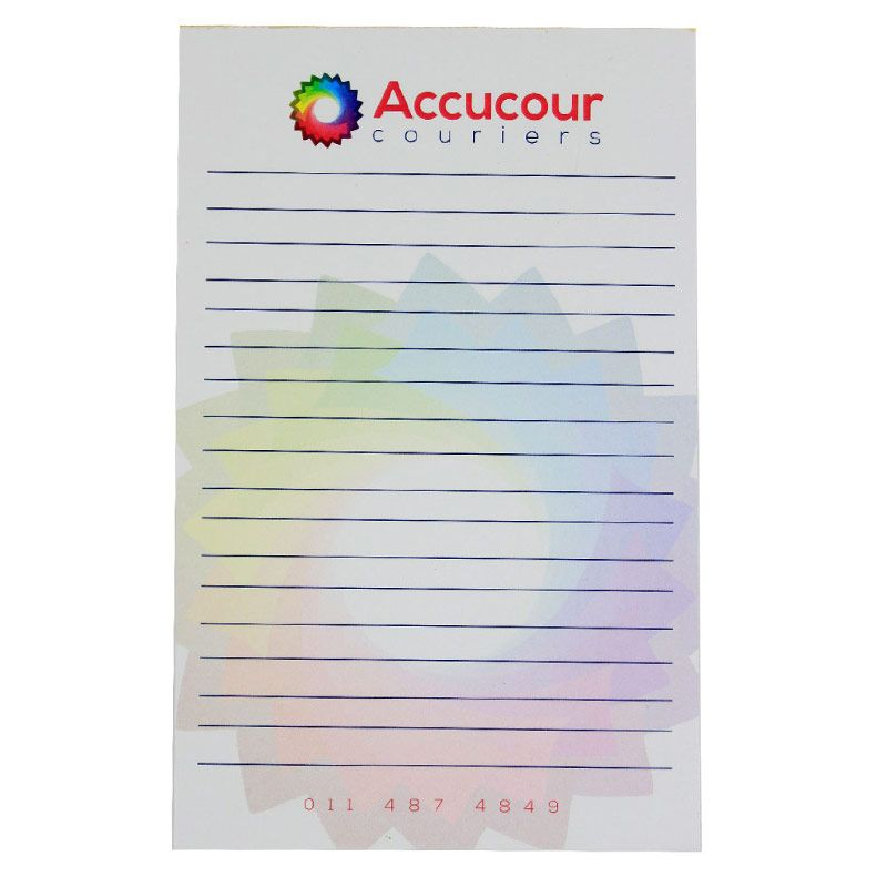 Printed Notepad And Promotional Notepads In South Africa Printednotepad Customnotepad Stationery