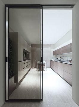 Marina Palas Apartments Rimadesio Sliding Doors Systems